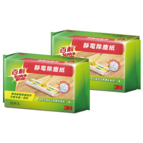3M 百利靜電除塵紙補充包