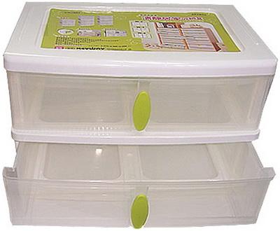 W2 收納盒 2格