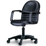 CPC-02PG 氣壓式高級辦公椅(PU扶手)